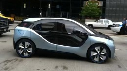 BMW electric city car i3