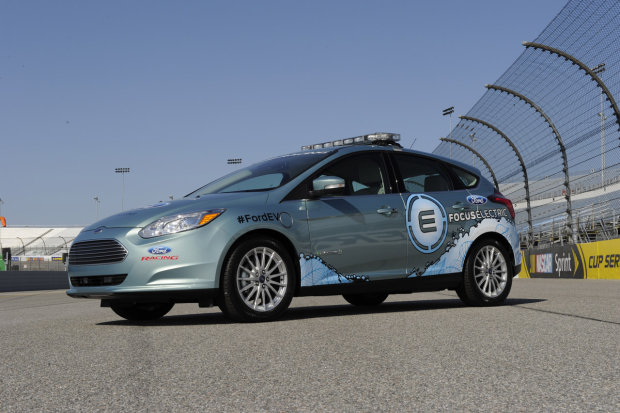 Ford Focus Electric Pace Car side view