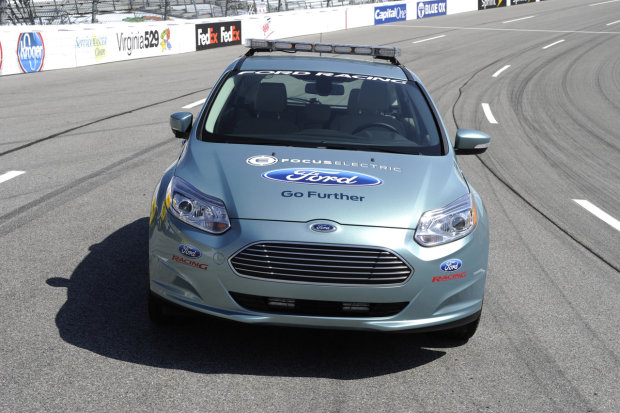 Ford Focus Electric Pace Car front view