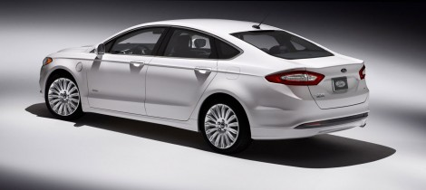 2013 Ford Fusion Energi Side View
