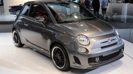 Fiat 500 electric vehicle at 2010 Detroit Auto Show