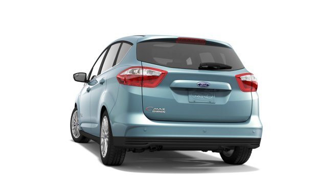 Rear view of C-max Energi