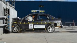 Frontal crash test of Coda Sedan by NHTSA earned 2 stars