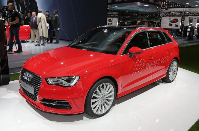 Audi A3 E-tron at the Frankfurt Motor Show