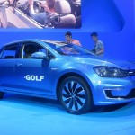 2015 Volkswagen e-Golf at LA Auto Show