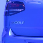 2015 Volkswagen e-Golf rear badge