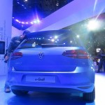 2015 Volkswagen e-Golf rear end view