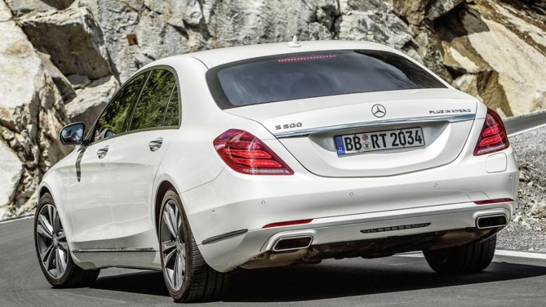 Mercedes Benz S 500 Plug In Hybrid Comes March 2017 At Least 10 Other Phev To Follow