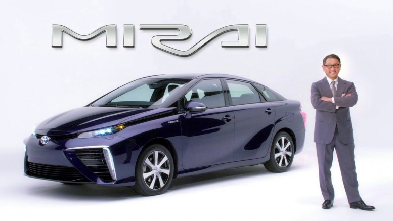 2016 Toyota Mirai Fuel Cell Vehicle has lots of interest