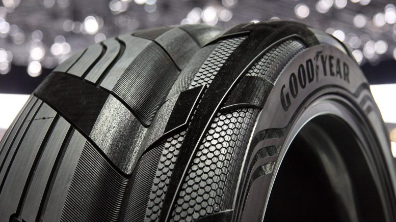 Electric Vehicle Tire Can Charge Your EV