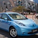 Nissan Leaf in Melbourne