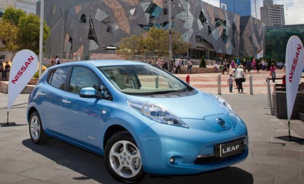 Nissan Leaf in Melbourne