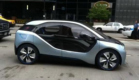 BMW electric city car i3