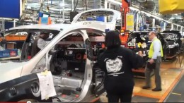 2012 Ford Focus Electric at Wayne Michigan Assembly Plant