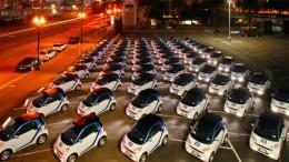 Car2Go Electric Car Sharing Program in San Diego