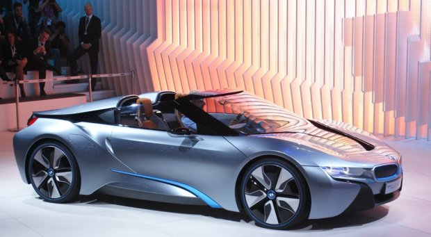 BMW i8 PHEV Spyder