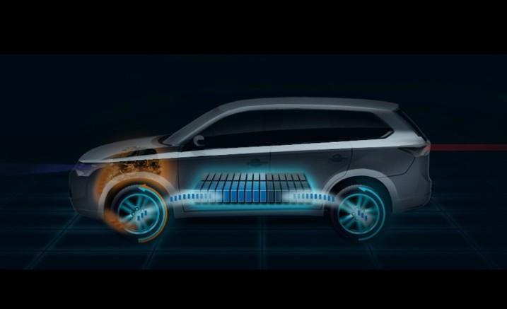 2013 outlander plugin hybrid