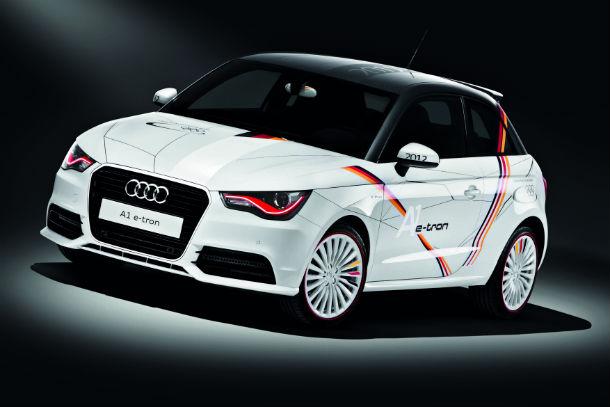 Olympic Audi A1 e-tron