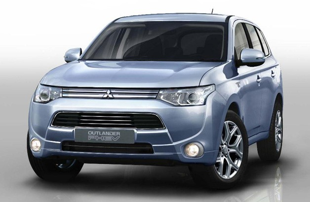 Mitsubishi Outlander PHEV concept front view