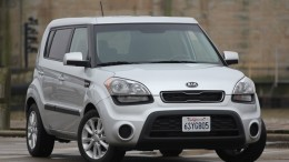 Fron view of 2012 Kia Soul EV variant