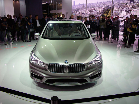 Active Tourer looks like a 3-series from the front