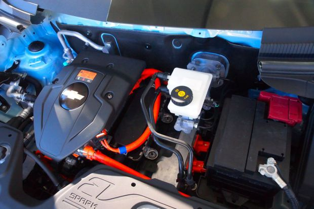 chevy-spark-ev-engine-compartment | My Electric Car Forums