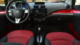 Interior shot of 2013 Chevy Spark EV