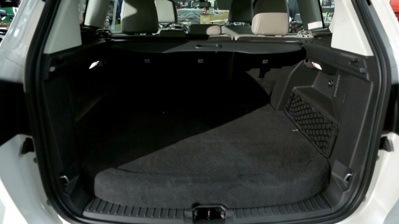 Ford C Max Cargo Space >> How Much Cargo Space Does The Ford C Max Energi Battery Pack Use