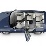 2013 VW CrossBlue showing 6 seats