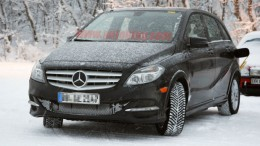 B-Class Electric Drive caught cold weather testing