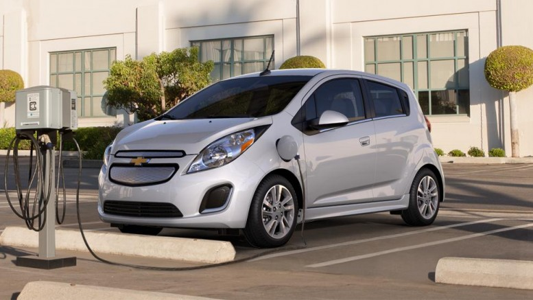 chevy spark ev as low as 19 995 after incentives my. Black Bedroom Furniture Sets. Home Design Ideas