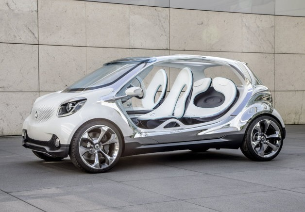 Smart Forjoy Is Forfour Electric Drive Concept Headed To Frankfurt