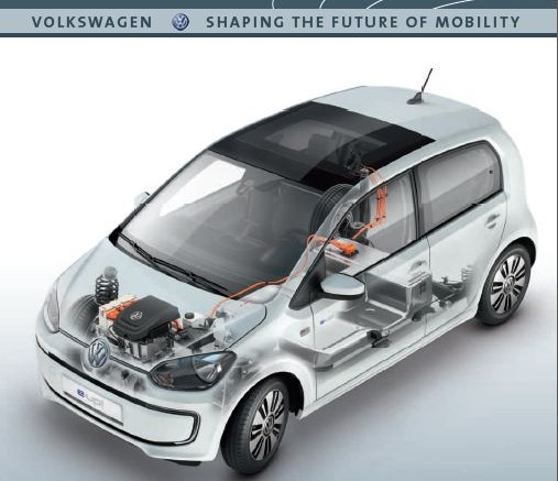 volkswagen e up air cooled battery featured in viavision. Black Bedroom Furniture Sets. Home Design Ideas