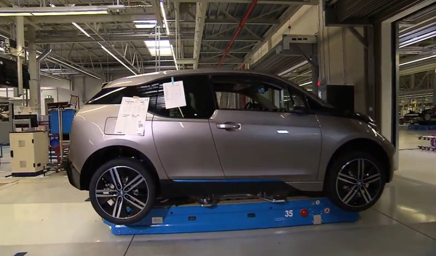 bmw i3 on assembly line in leipzig germany my electric. Black Bedroom Furniture Sets. Home Design Ideas