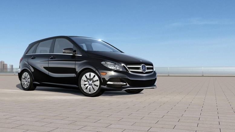 Mercedes b electric rekkevidde