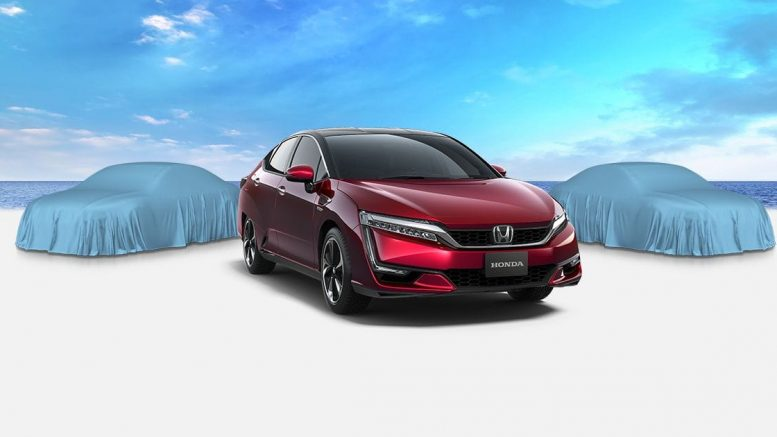 Honda Clarity Ev And Plug In Hybrid Will Launch 2017