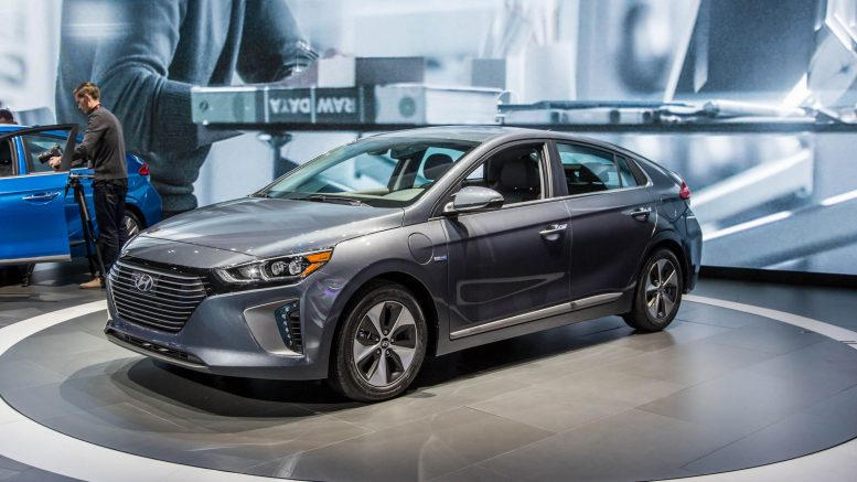 Hyundai Ioniq Electric Is Rated For 124 Mile Range By Epa
