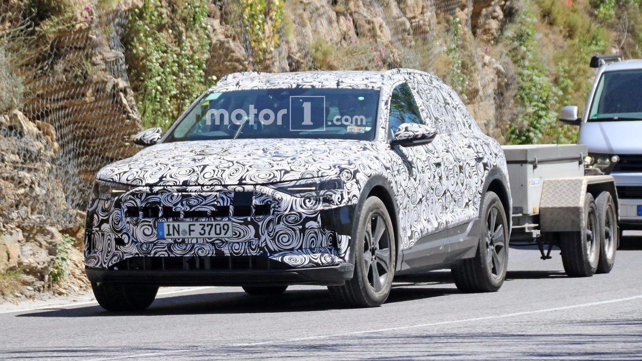 2018 Audi e-Tron Quattro Towing a Trailer | My Electric ...